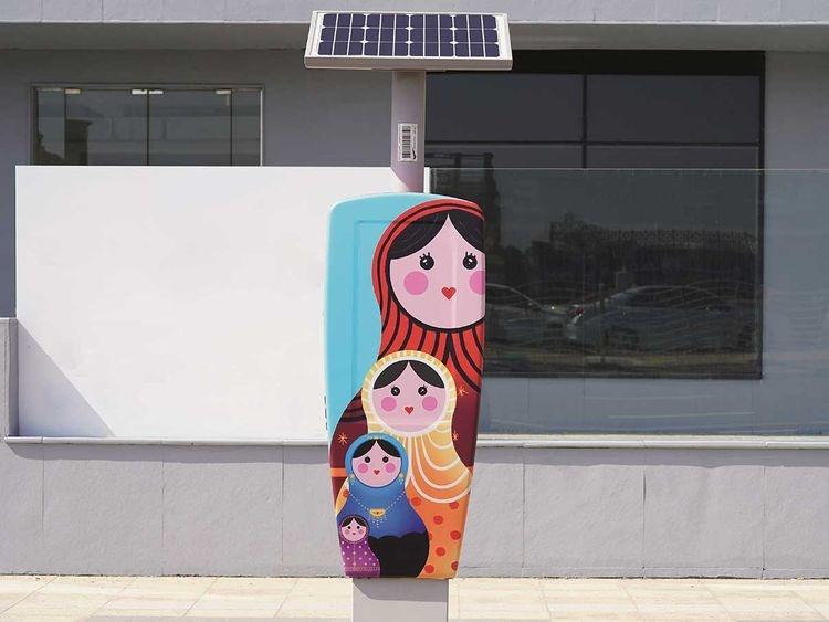 RTA, Brand Dubai, Public art