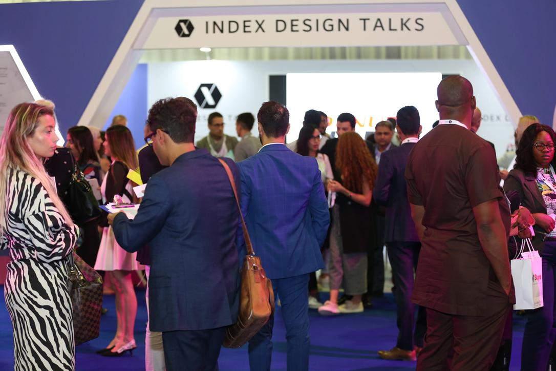 GCC interior design, DWTC, Index design