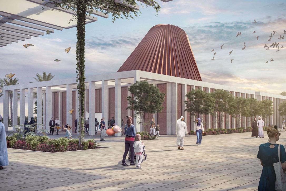 Ireland's national pavilion at Dubai Expo 2020