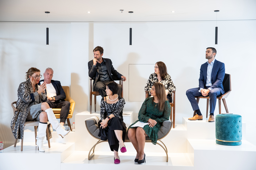 Our latest round table took place at Depa Interiors' HQ in Dubai