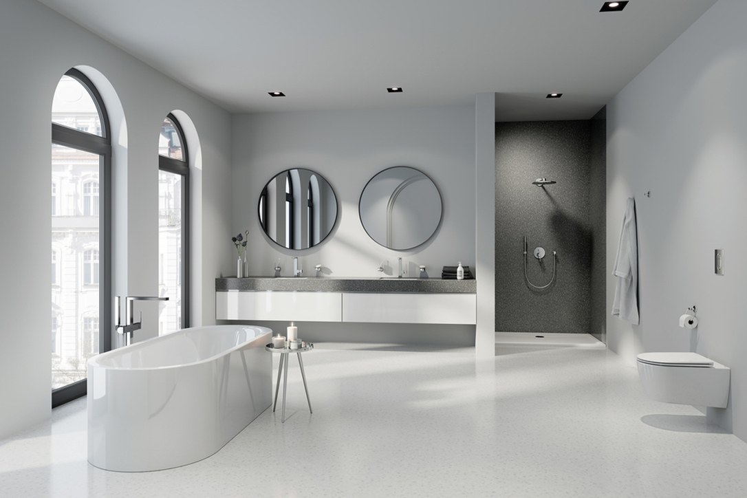 Grohe, Sanitary fittings, Faucet Collection, Architectural design, Innovative smart faucet