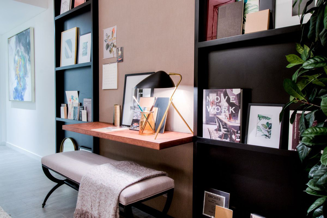 Place your desk in a comfortable space, is among tips from Ellington Properties on how to work from home