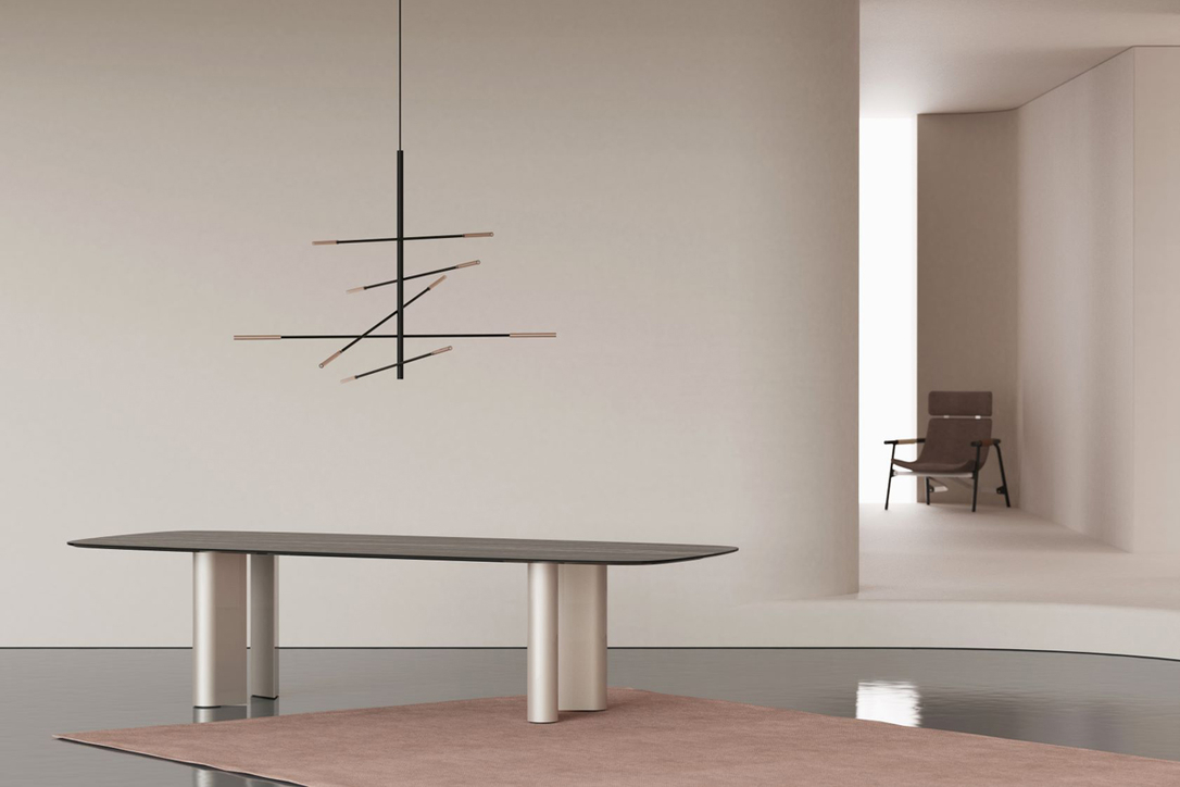 Geometric Table by Alain Gilles from Bonaldo's new collection