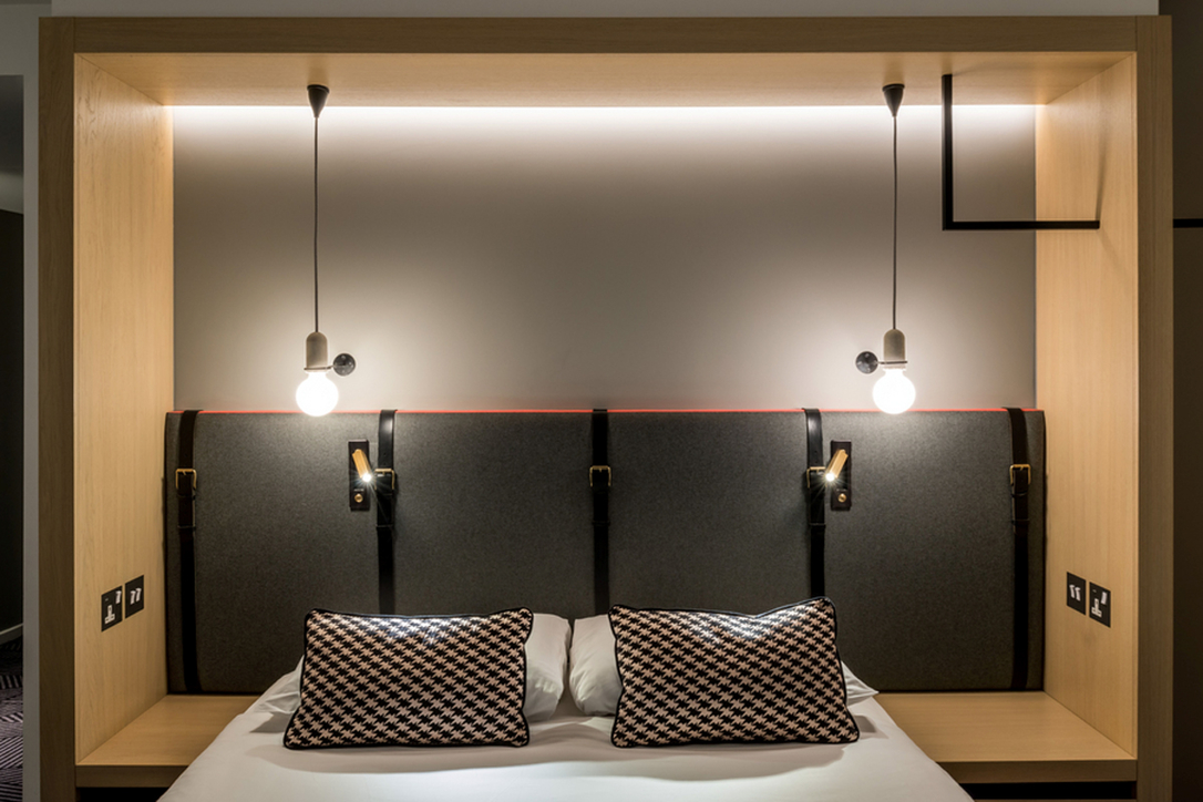 Nulty Lighting at the Assembly Hotel, London