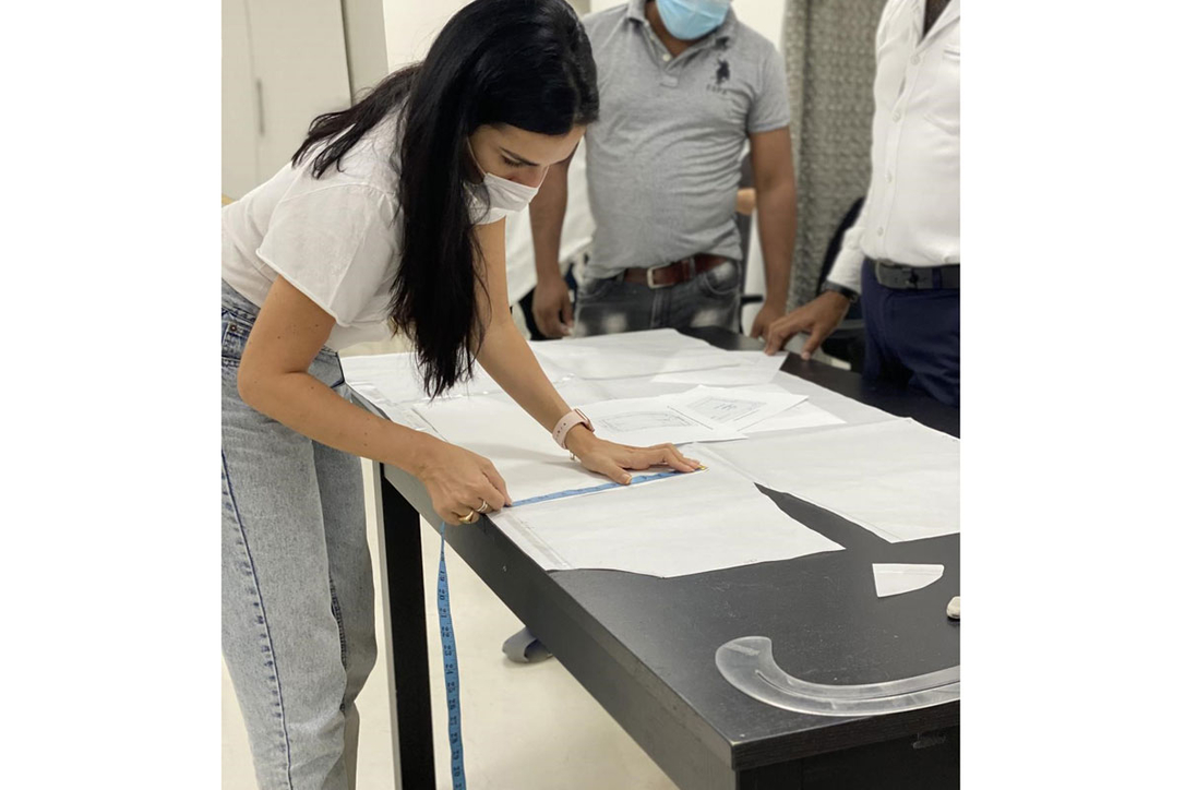 Dubai Design District Artists Join Initiative To Make Protective Medical Clothing For Frontline Staff Insight Dubai Design District Protective Medical Clothing Frontline Staff Covid 19 Coronavirus Designers Dubai Cid