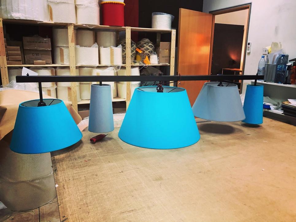Lamps aplenty