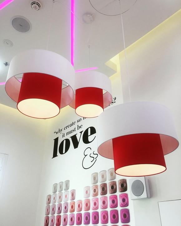 Lampshades Dubai's work