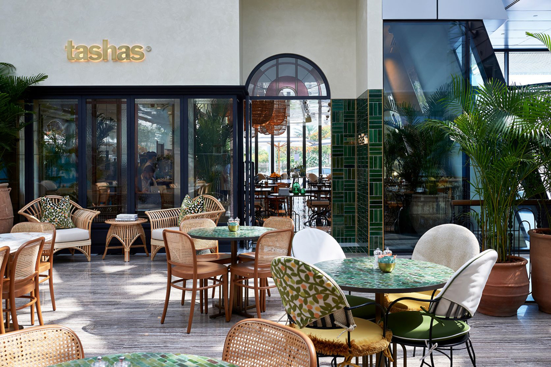 The new Tashas cafe in Al Barsha, Dubai