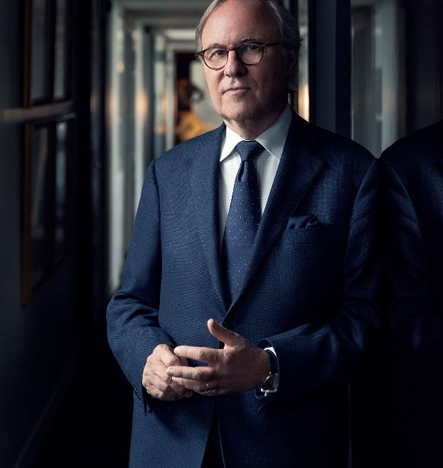 "Interior designer Pierre-Yves Rochon says the Waldorf Astora project was a ""dream come true."""