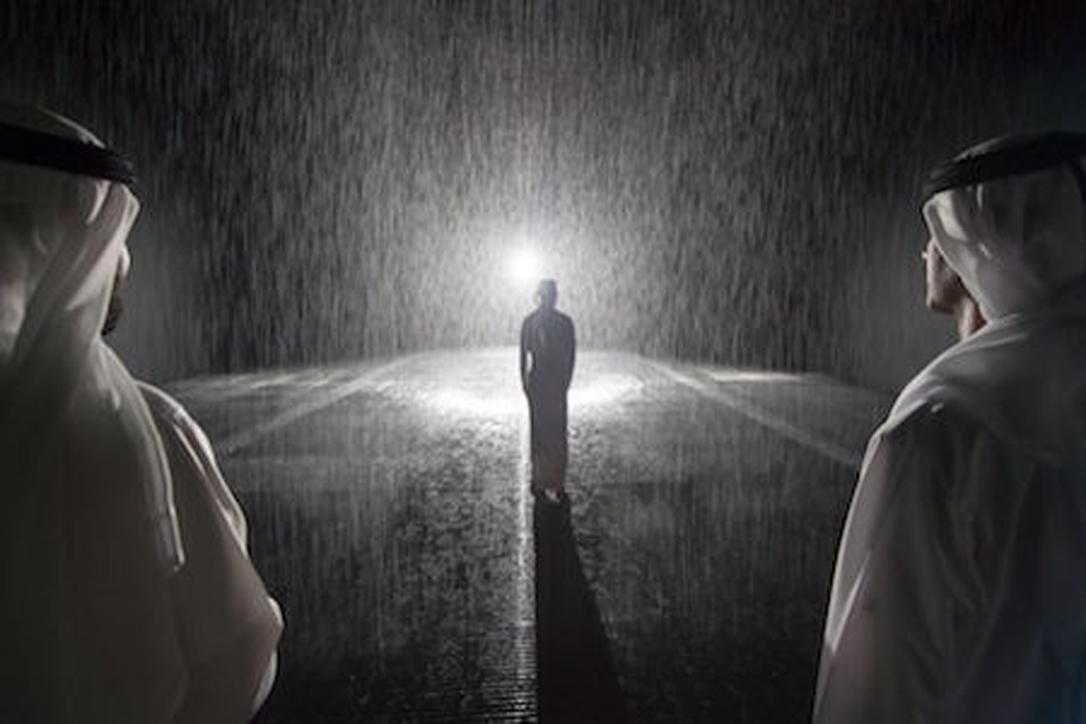 Rain Room Sharjah is welcoming visitors once again