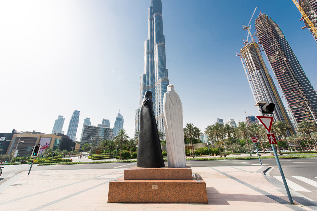 Visitors can enjoy the views from the world's tallest tower once again