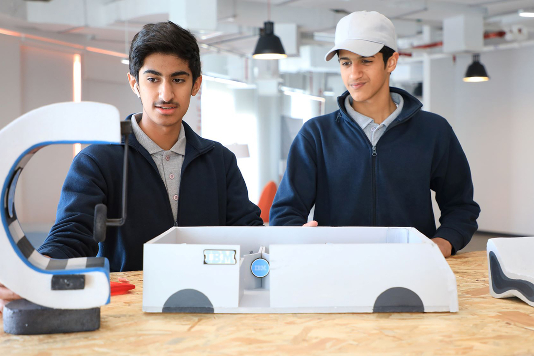 ATHS RAK, who have won DIDI's Project Design Space three times