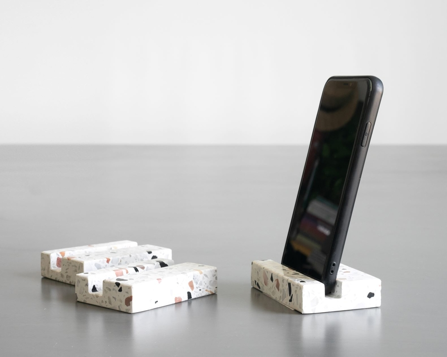 Limited edition mobile phone holder created by Custom No.9