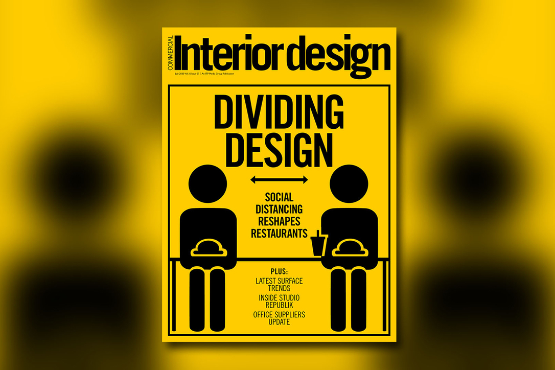 This month's cover story looks at design in social distancing