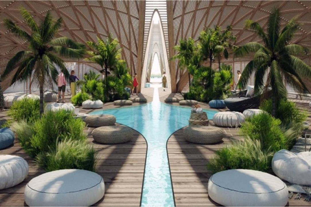 How inside the eco-friendly project will look