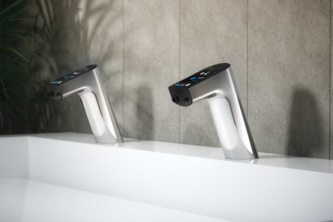 Intellimix taps are touch free