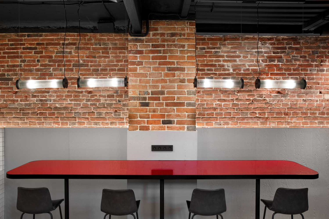 Original brickwork becomes a feature
