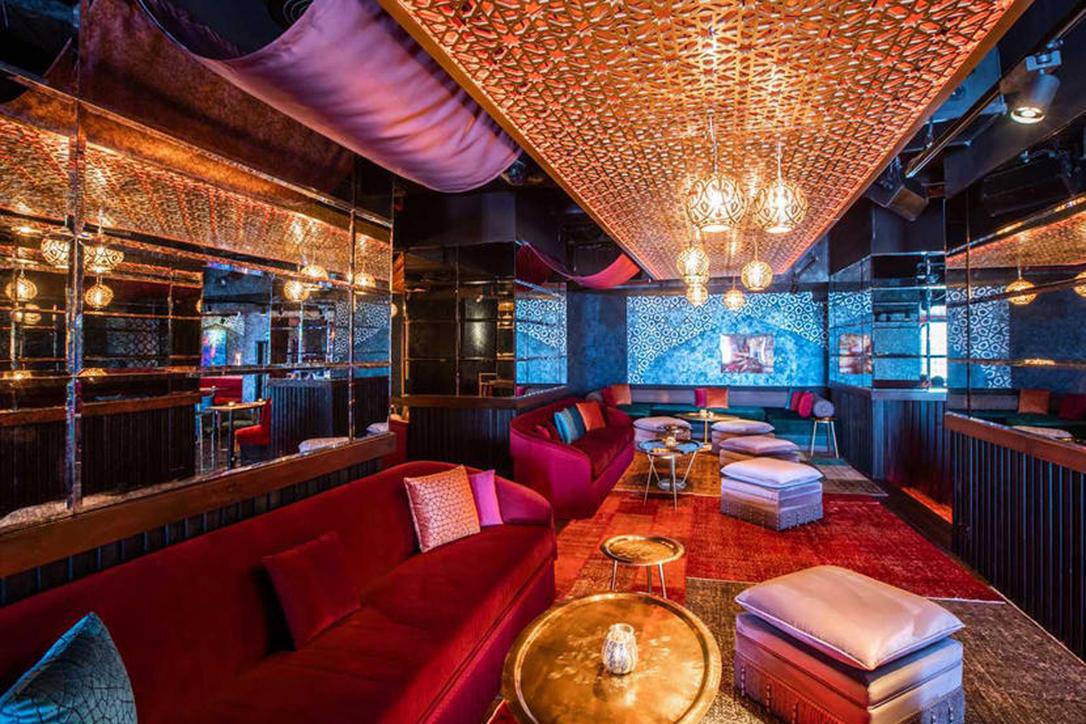 Inside of Asil, the new restaurant in JBR Dubai