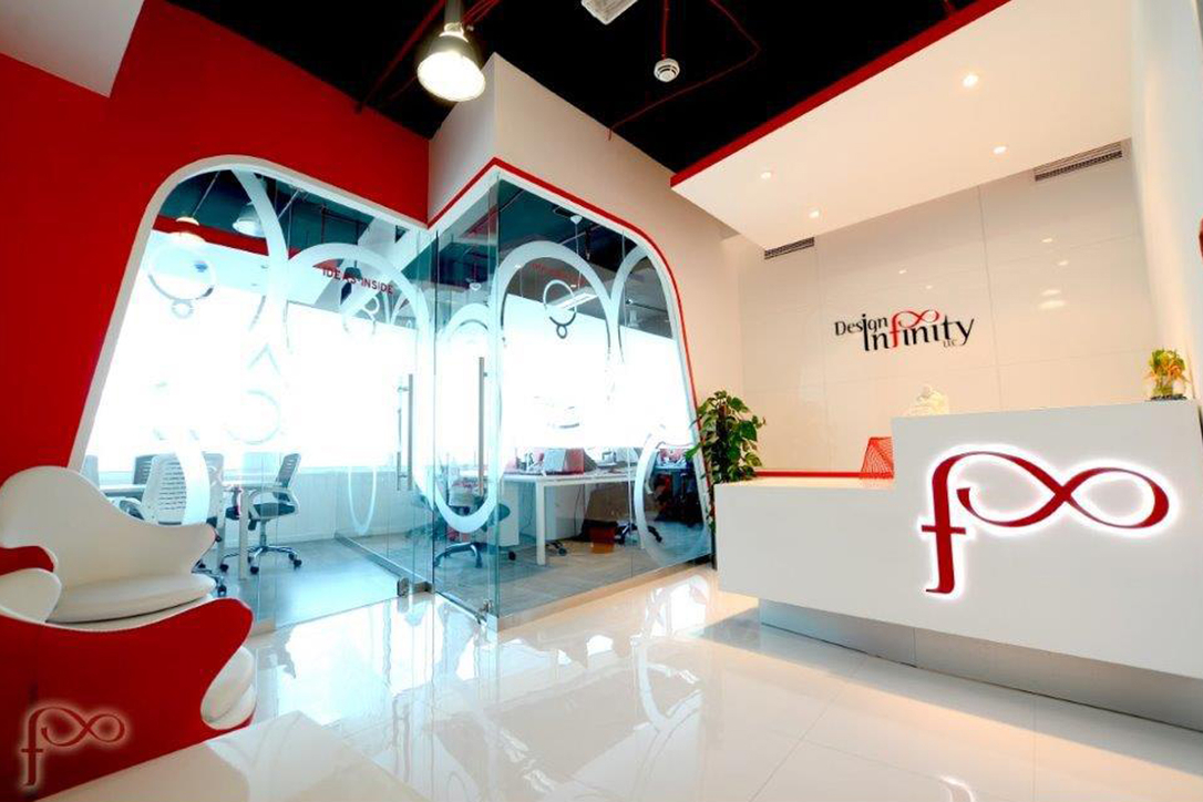 Design Infinity has its headquarters in Dubai