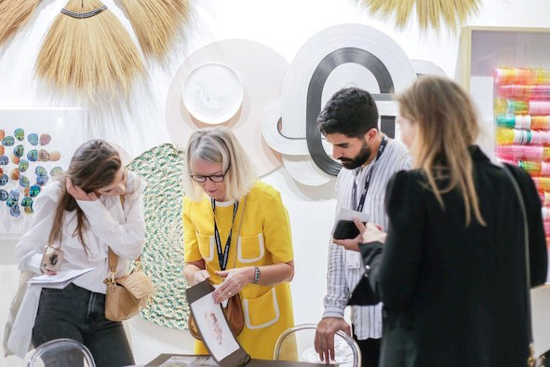 Downtown Design takes place as part of Dubai Design Week