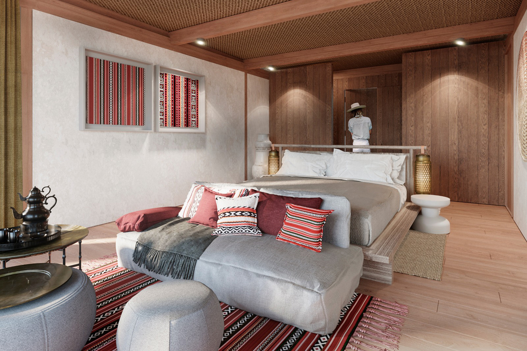 What the Habitas' Royal Suite interior is going to look like