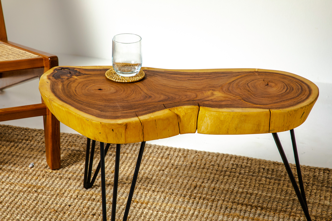 All the wood used in furniture is sustainably sourced