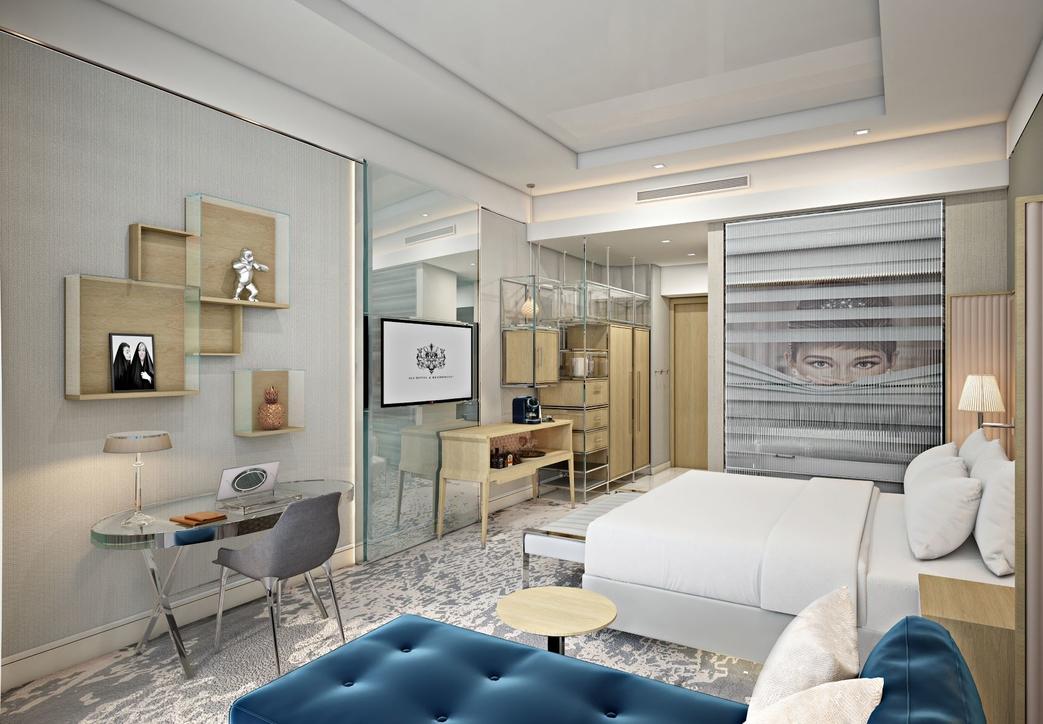 Inside Dubai's new SLS Hotel & Residences, by Bishop Design