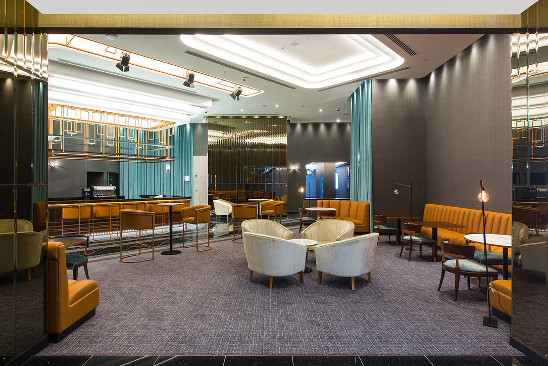 Turnkey fit-out contractor completed the Vox cinema in Nakheel Mall