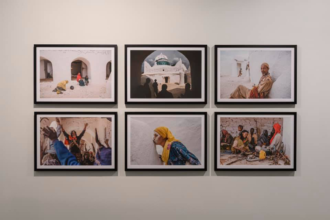 An exhibition of photography at Sharjah Art Foundation