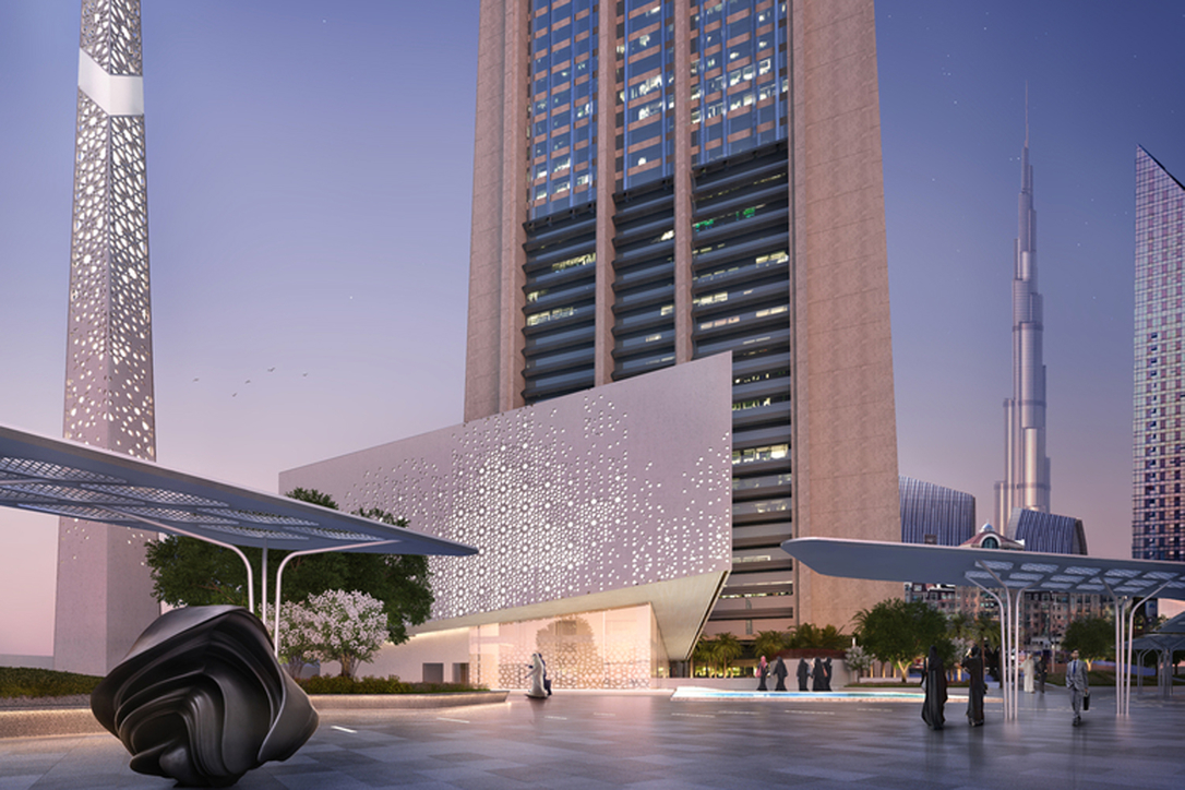The Grand Mosque DIFC originally opened in 2019