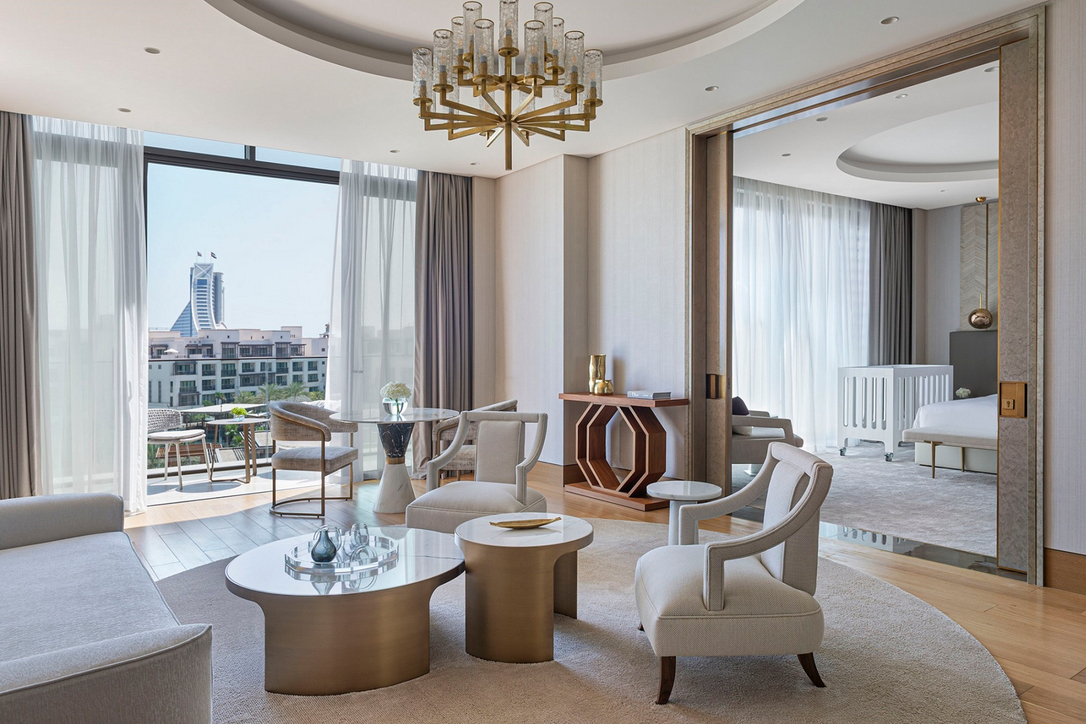 1508 London brings Romantic Maximalism concept to Royal Suite Penthouse for the Jumeirah Al Naseem Hotel