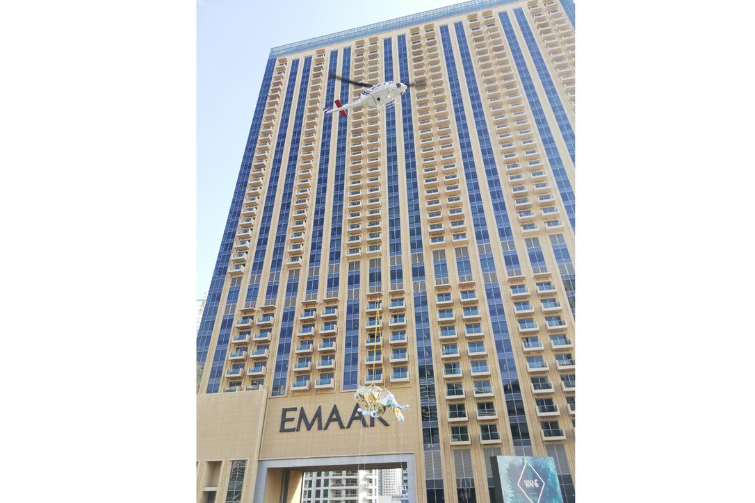Touch down at Address Dubai Marina