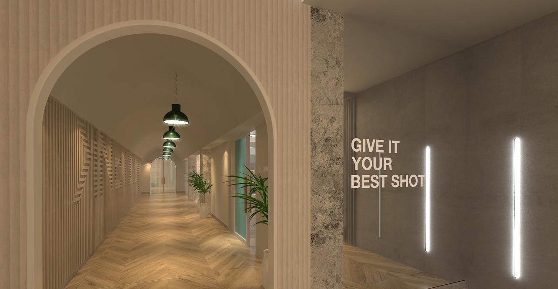 Kinetico fitness centre in Saudi Arabia by Studio EM