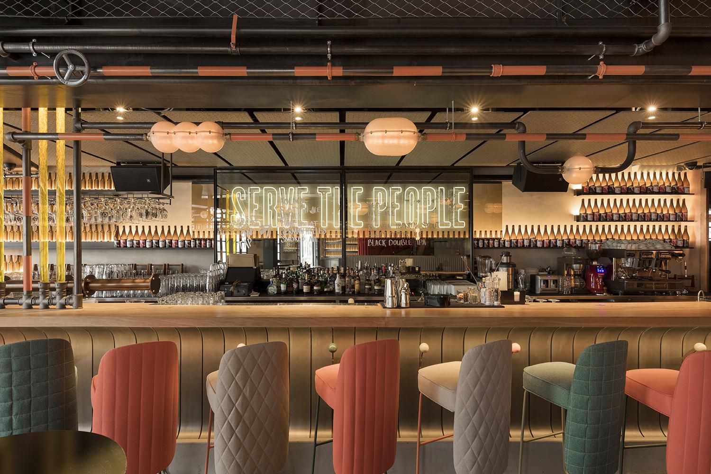 Barcelona Based Lagrania Design Creates Industrial Interiors For Restaurant In Istanbul Projects Restaurants Industrial Design Istanbul Turkey Cid